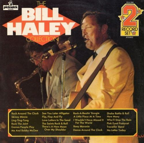 BILL HALEY AND HIS COMETS The Bill Haley Collection Vinyl Record LP Pickwick 1971